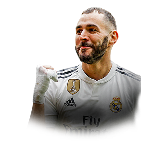 BENZEMA FIFA 19 Team of the Week Gold
