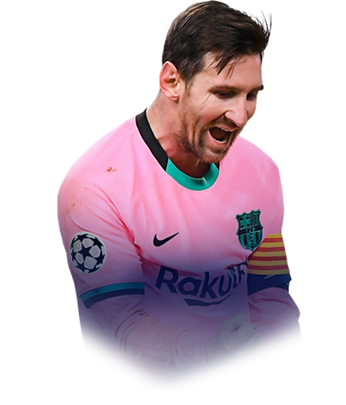 MESSI FIFA 21 Champions League TOTT