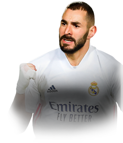 BENZEMA FIFA 21 Team of the Week Gold