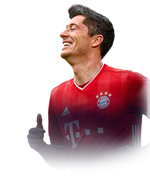 LEWANDOWSKI FIFA 21 Team of the Year