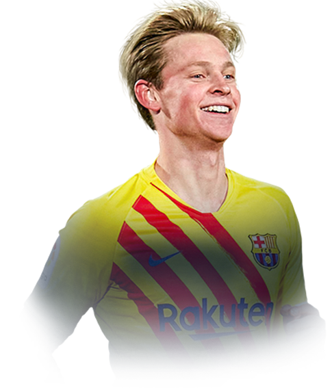 DE JONG FIFA 21 Team of the Season Gold