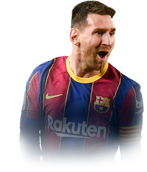 MESSI FIFA 21 Team of the Season Gold