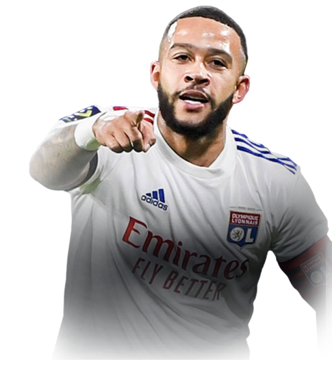 DEPAY FIFA 21 Team of the Week Gold