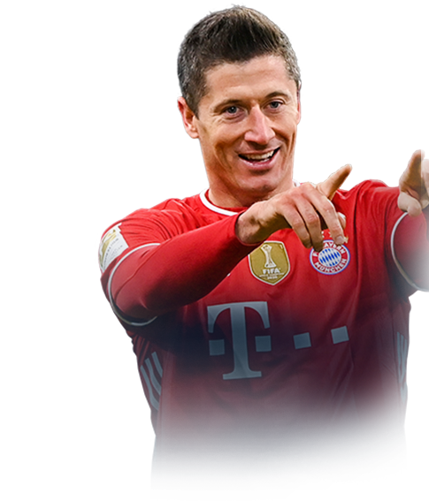 LEWANDOWSKI FIFA 21 Team of the Season Gold