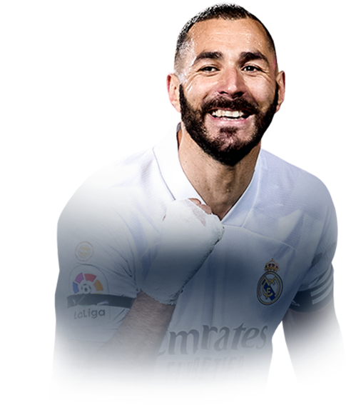 BENZEMA FIFA 21 Team of the Season Gold