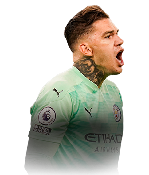 EDERSON FIFA 21 Team of the Week Gold