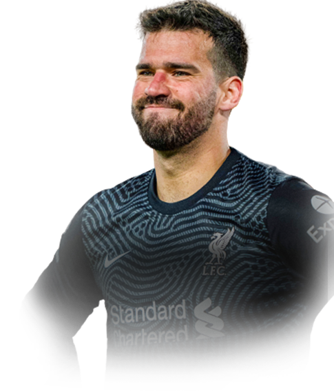 ALISSON FIFA 21 Team of the Week Gold