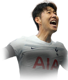 SON FIFA 22 Team of the Week Gold